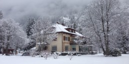 Herrenhaus im Maltatal - Winter