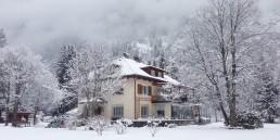 Herrenhaus im Maltatal - Das Haus im Winter