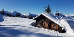 Herrenhaus im Maltatal - Winter - Goldeck