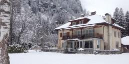 Herrenhaus im Maltatal - Winter - Herrenhaus - Birke