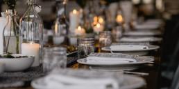 Herrenhaus im Maltatal - Winter - Gedeckter Tisch